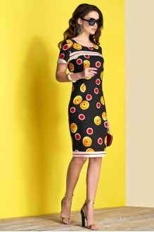Lissana 3375 черный с желтым