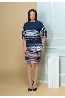 Moda-Versal 1785 пудра+темно-синий