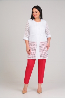 Arita Style (Denissa) 1154 бело-красный