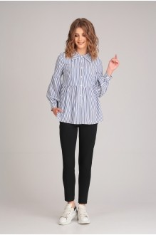 Arita Style (Denissa) 1158 голубая полоска