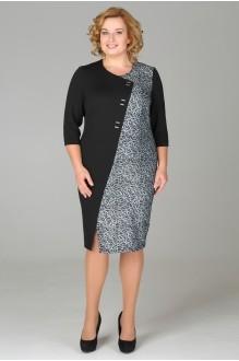 Fashion Lux 1039 черно-серебристый