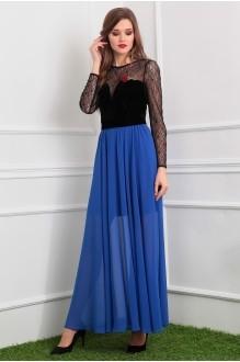 Мода-Юрс 2386 черный/голубой