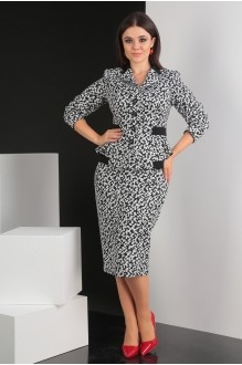 Мода-Юрс 2349 -1 черно-белый
