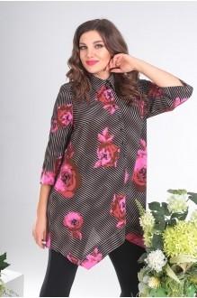 Мода-Юрс 2413 розовые цветы