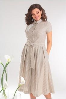 Мода-Юрс 2333 бежевые полоски