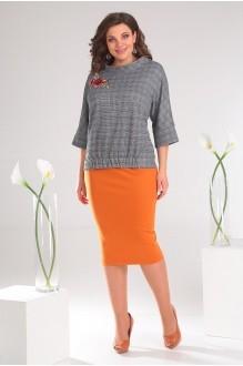 Мода-Юрс 2468 оранжевый + серый