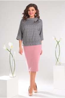 Мода-Юрс 2468 розовый + серый