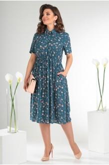 Платье Мода-Юрс 2479 тёмный фото 1