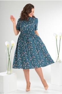 Платье Мода-Юрс 2479 тёмный фото 3