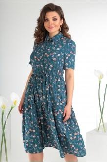 Платье Мода-Юрс 2479 тёмный фото 4