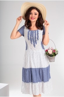Мода-Юрс 2130 синий + белый