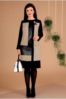 Мода-Юрс 2457 чёрный + беж