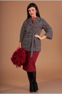 Мода-Юрс 2489 мультиколор + бордо