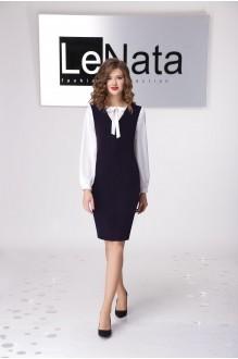 LeNata 21794 -1 т.син с бел.бл.