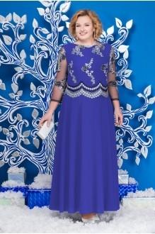 Нинель Шик 5596 василек+синий