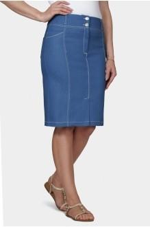 Mirolia 585 голубой джинс