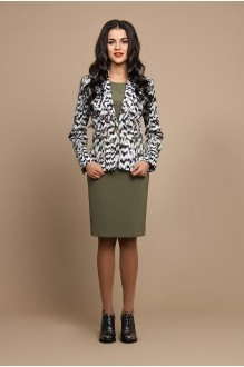 ALANI COLLECTION 479 хаки/леопард)