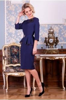 Euro-moda 183 синий+золото