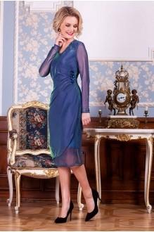 Euro-moda 194 синий с изумрудным отливом