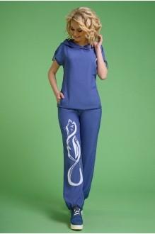 Euro-moda 099 джинсовый аппликация