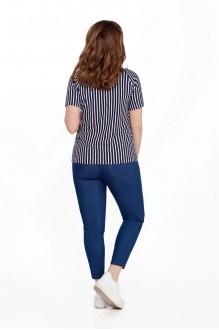 Костюм, комплект TEZA 204 синие брюки фото 2