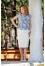 225 голубая блуза/белая юбка №386705