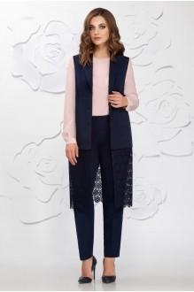 Ивелта Плюс 3572 розовая блуза
