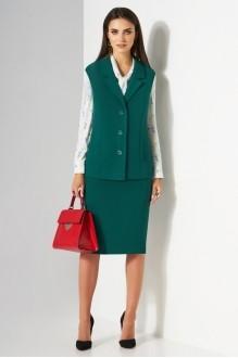 Lissana 3181 серая блуза+стрекоза