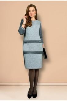 Платье Мишель Стиль 639 серый фото 1