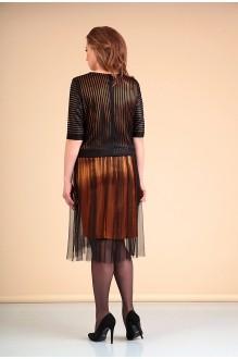 Платье Мишель Стиль 660 черный с золотом  фото 2