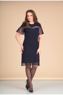 Платье Мишель Стиль 668 т. синий фото 1