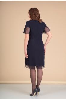 Платье Мишель Стиль 668 т. синий фото 2