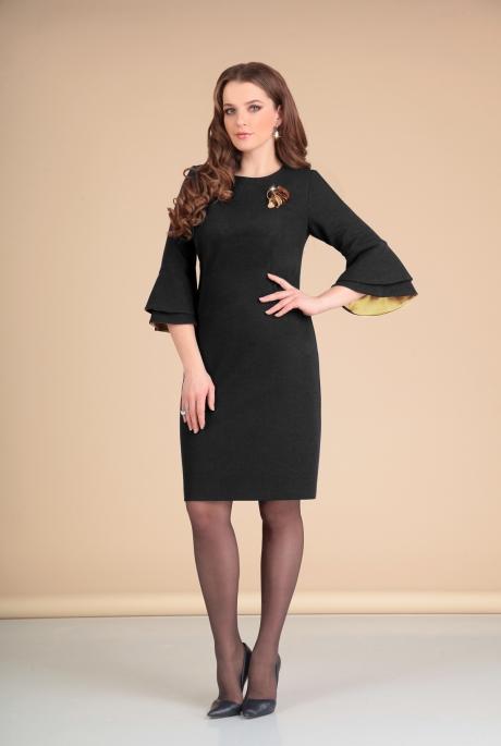 Платье Мишель Стиль 669 черный