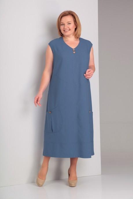 Платье Novella Sharm (Альгранда) 2927 синий