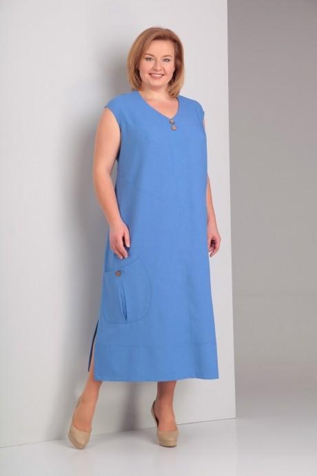 Платье Novella Sharm (Альгранда) 2927 голубой