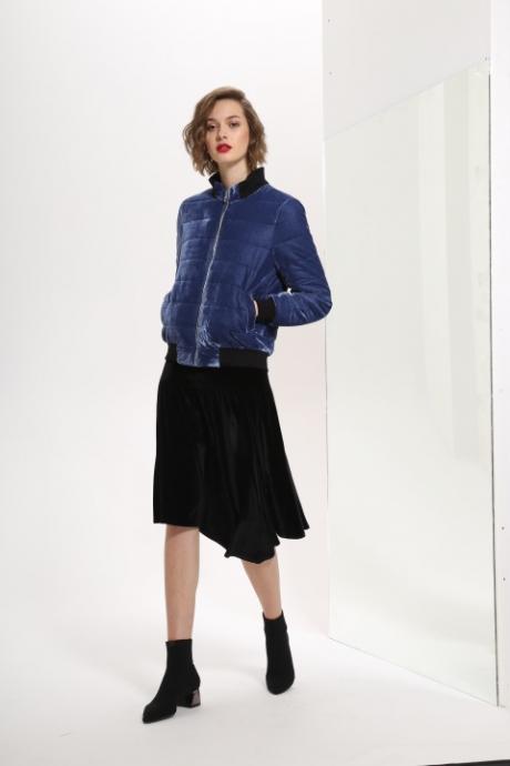 Куртка, пальто, плащ Prestige 3231 синий