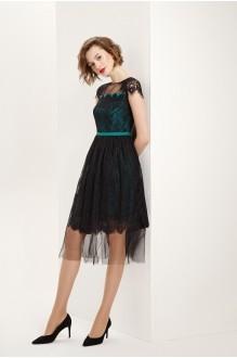 Платье Prestige 3560 черно-зеленый фото 1