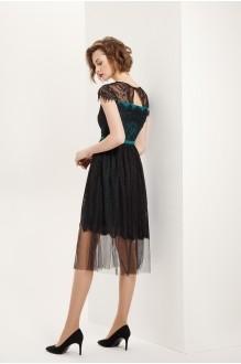 Платье Prestige 3560 черно-зеленый фото 2