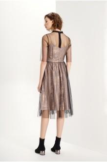 Платье Prestige 3612 черный-золото фото 2
