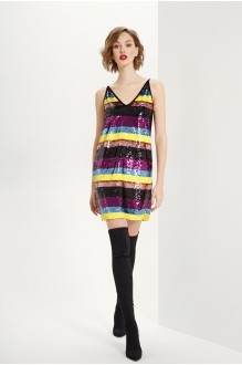 Платье Prestige 3603 мультиколор  фото 2