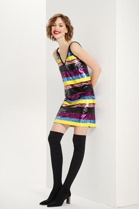 Платье Prestige 3603 мультиколор