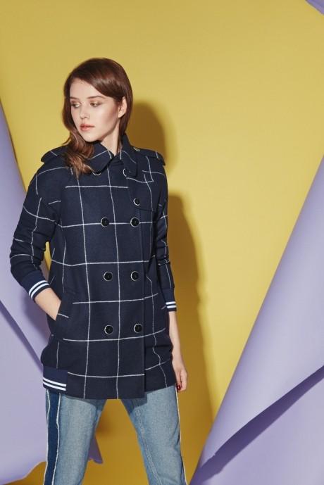 Куртка, пальто, плащ Prestige 3528 синий