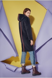 Куртка, пальто, плащ Prestige 3421 черный фото 2