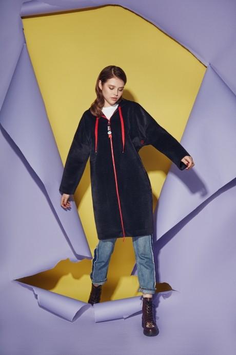 Куртка, пальто, плащ Prestige 3421 черный
