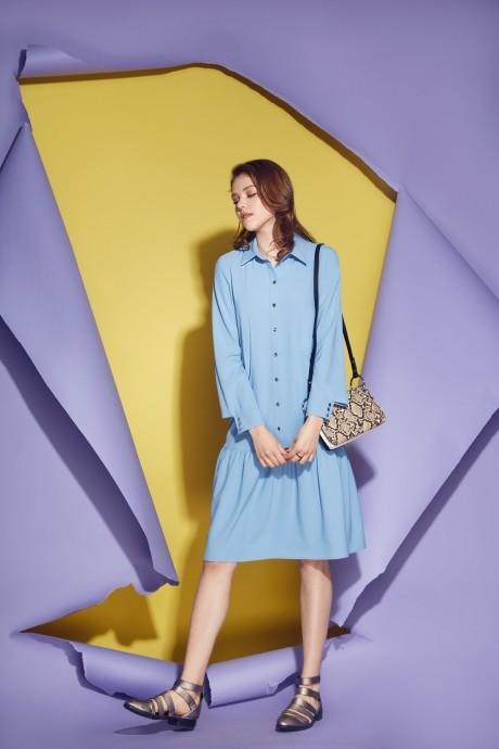 Платье Prestige 3474 голубой
