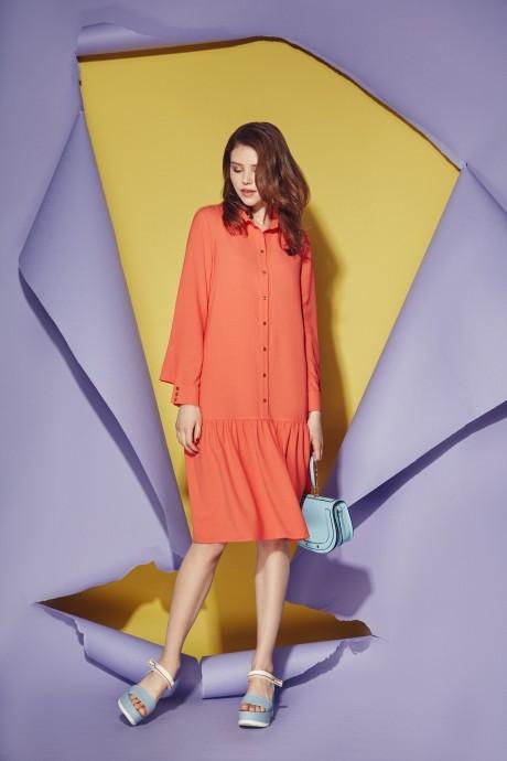 Платье Prestige 3474 оранжевый