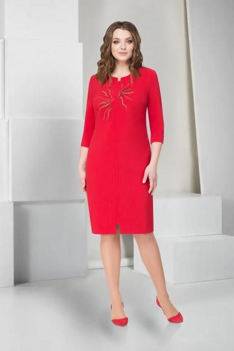 Платье ТAиЕР 753 красный