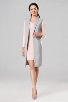 Lady Secret 3553 платье+жилет серый