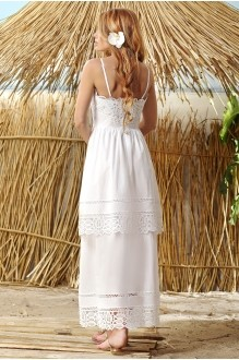 Платье Vesnaletto 1446 белый фото 2