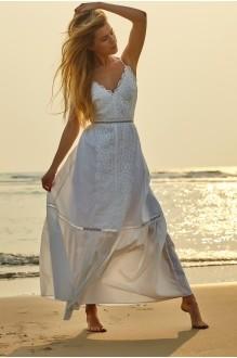 Платье Vesnaletto 1424 -2 белый фото 1